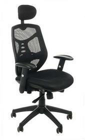 SitPlus Fotel biurowy Sit Plus Spectrum HB-NET czarny HBNETblack