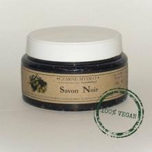Savon Noir Czarne Mydło w kostce - Czyste mydło 300ml g