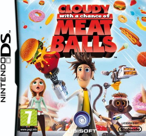 Cloudy with a Chance of Meatballs NDS