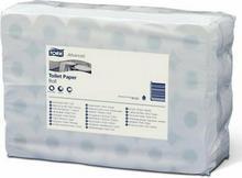 TORK Papier toaletowy w rolkach Advanced biały