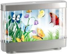 Butterfly Lampka LED 1 x 9 W szara