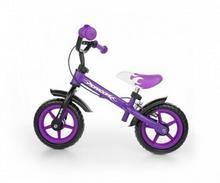Milly Mally Rowerek biegowy Dragon z hamulcem fioletowy