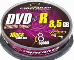 Esperanza DVD+R 8.5GB Double Layer 8x - 10 1245