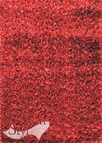 DywanStyl.pl Brilliant Shaggy czerwony 080x150 prostokąt