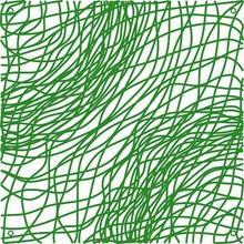 Koziol Panel dekoracyjny Silk zielony 1123543