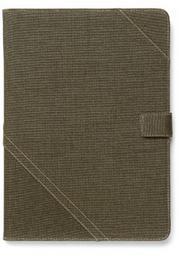 Zenus Cambridge Diary Case/Tasche Khaki für Apple iPad Air