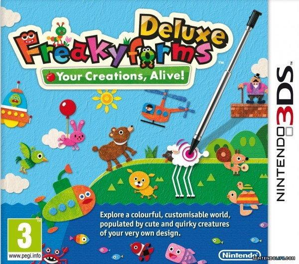 Nintendo Freaky Forms Deluxe 3DS