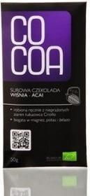 Cocoa surowa czekolada wiśnia - acai 50g - 5902768064018
