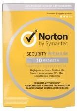Symantec NORTON SECURITY PREMIUM 3.0 25GB PL 1 U 10/12M ESD OPESYMOAV0013 [6254391]