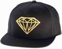 Diamond Czapka z daszkiem - Brilliant SMU Black/Gold (BKGD)