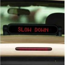 ALLRIDE HIT!! Samochodowy Komunikator Panelowy - Wyświetlacz LED. Innowacyjny spos