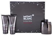 Mont Blanc Legend Intense woda toaletowa 100 ml + balsam po goleniu 100 ml + żel pod prysznic 100 ml
