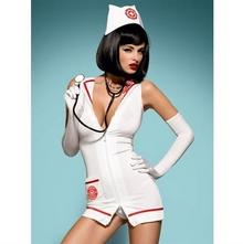 Obsessive Emergency dress + stetoskop XXL