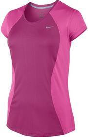Nike koszulka do biegania damska RACER SHORT SLEEVE / 645443-616 Ona 826216636563