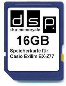 DSP Memory parent for Casio Exilim EX-Z77 16 GB 4051557386303