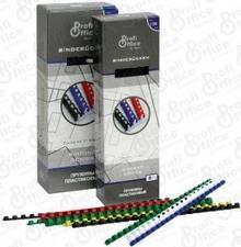 ProfiOffice Grzbiety/SPIRALE do bindowania CZARNE 14 mm plastikowe 100 szt 60942