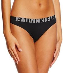 Calvin Klein Stringi underwear THONG dla kobiet, kolor: czarny, rozmiar: 36 (rozmiar producenta: S)