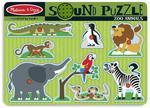 Melissa and Doug Puzzle Dźwiękowe Układanka Zwierzęta z Zoo Melissa and Doug 10727