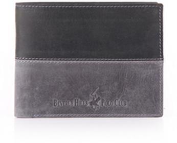 Beverly Hills Polo Club portfel męski skóra Oklahoma BH-261 czarny