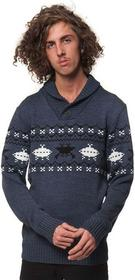 Horsefeathers HEY DUDE SWEATER (blue melange)