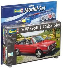 Revell Samochód VW Golf 1 Cabrio (z farbami) 67071