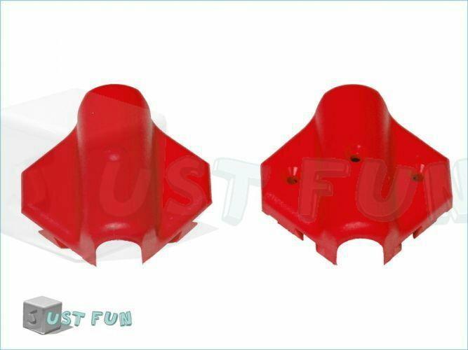 Just Fun Łącznik X  16 mm - czerwony