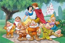 Trefl Królewna Śnieżka i Krasnoludki: Szczęśliwa Para 16102