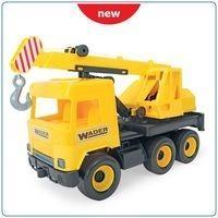 Wader Middle Truck Dźwig żółty w kartonie