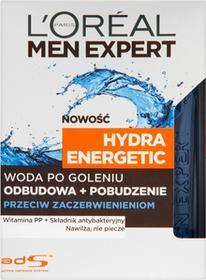 Loreal Expert Hydra Energetic odbudowa + pobudzenie Przeciw zaczerwienieniom100ml
