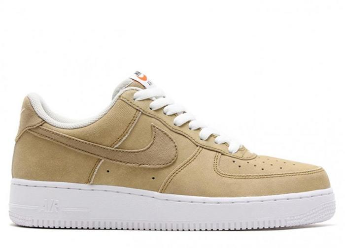 nike air force 1 low damskie beżowe