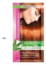 Marion Aloes & Keratyna 4-8 myć szampon koloryzujący w saszetce 91 Miedź 40ml