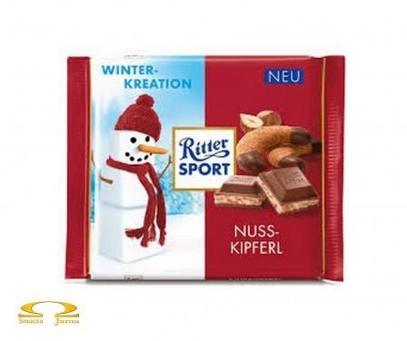 Ritter Sport Nuss-Kipferl Winter Edition 100g