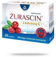 Oleofarm SP. Z O.O. Żurascin z witaminą C 36 kapsułek 8758301