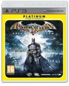 Batman Arkham Asylum Platinum PS3