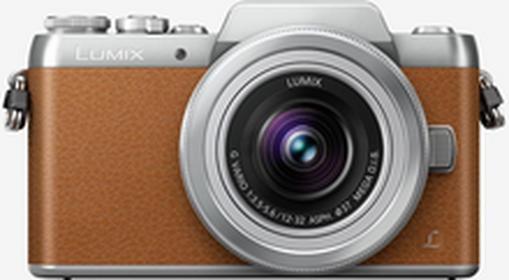 PanasonicLumix DMC-GF7 + 12-32mm brązowy