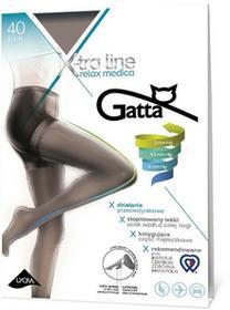 Medica Rajstopy - Gatta - Rajstopy X-tra Line Relax 40 den grafitowyowy relax