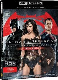 Batman v Superman Świt Sprawiedliwości 4K Ultra HD) Blu-ray) Zack Snyder