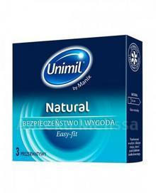 Unimil KRAKÓW NATURAL Prezerwatywy 3 szt 9048524