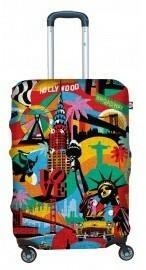 BG Berlin Pokrowiec na walizkę America Way Lobo - S 6906053047921