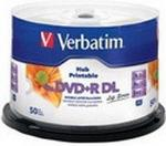 Verbatim Dysk DVD+R 8.5GB Double Layer 8x 50 szt. 97693