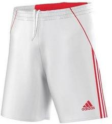 adidas spodenki piłkarskie Pepa - Biało-czerwone D87398