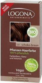 Logona roślinna czekoladowy brąz