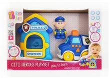 Bam Bam Zestaw samochód policyjny
