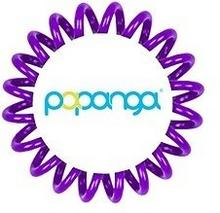 Papanga Elastyczna gumka do włosów mała) liliowa