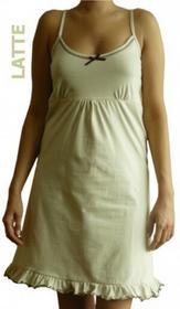 Dolce Sonno Koszula nocna ciążowa - Latte na ramiączkach