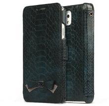 Zenus Croco Diary Case torba/granatowy (marynarski) do Samsung Galaxy Note 3 N9000