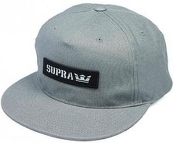 Supra Czapka z daszkiem - Mark Patch Snap Grey (030) rozmiar: OS