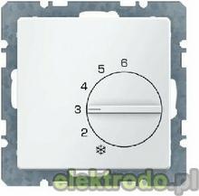 Regulator temperatury pomieszczenia ze stykiem zmiennym i elementem centralnym -