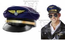Huser S.C. CZAPKA PILOTA KAPITANA SAMOLOT PILOT KAPELUSZ 5825488106