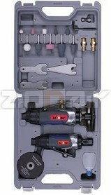 Zion Air szlifierka pneumatyczna z zestawem akcesoriów MAG33ACT